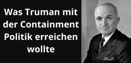 Containment Politik Truman