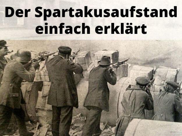 Spartakusaufstand einfach erklärt